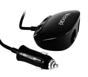 VEECLE KY-513 Разветвитель авто (2 гнезда+2*USB)