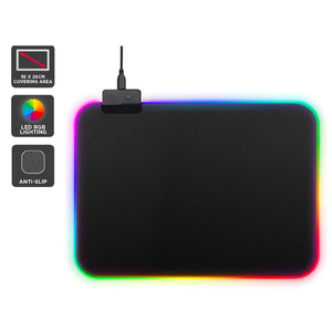 Орбита OT-PCM53 коврик для мышки RGB (Черный,25*35 см)