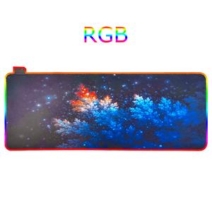 Орбита OT-PCM58 коврик для мышки RGB (Иней, 30*80см)