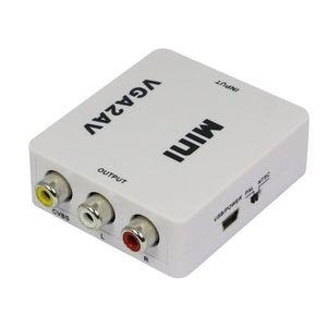 Конвертор VGA-3RCA
