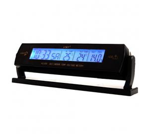 Часы автомобильные VST-7013V (вольтметр/термометр)