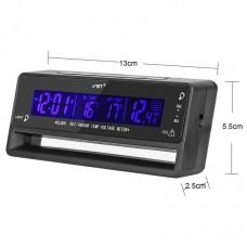 Часы автомобильные VST-7010V (вольтметр/термометр)