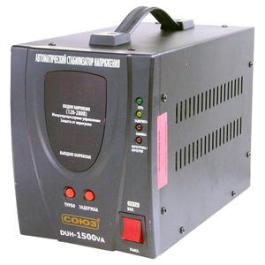 """Стабилизатор DUH-1500VA (входн. напряжение 120-280V, вых. мощность 1500VA, 6.82A) """"СОЮЗ"""""""
