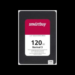 "Накопитель 2,5"" SSD Smartbuy Revival 3 120GB SATA3 PS3111 3D TLC"