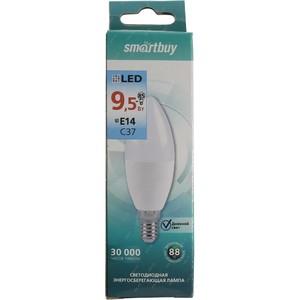 Светодиодная (LED) Лампа Smartbuy-C37-9.5W/6000/E27