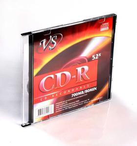 Диск VS CD-R 700Mb 52х в пластиковом боксе
