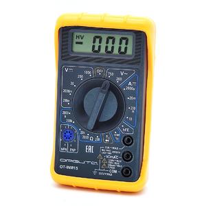 Мультиметр цифровой OT-INM15 с термопарой