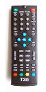 World Vision-T35 DVB-T2 (T55), пульт