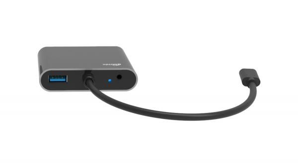 Переходник RITMIX CR-5400 USB Type-C вилка > USB, VGA, HDMI, Jack-3,5 мм гнезда