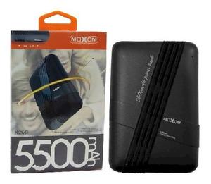 Внешний аккумулятор Powerbank Moxom MCK-15 5500 mAh, 2A