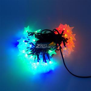 Гирлянда звездочки, 50шт светод.ламп, 5м, контроллер, мульти