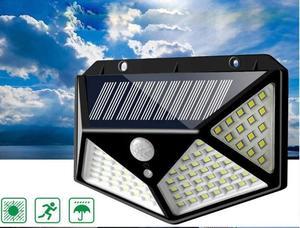 Уличный LED светильник FL-141 (SH-100B) (солнечная батарея/ датчик движения)
