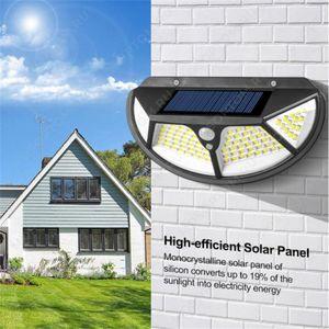 Уличный LED светильник FL-140 (SH-102) (солнечная батарея/ датчик движения)