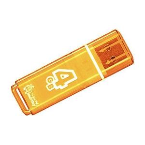 Smart Buy USB 4GB Glossy series Orange