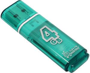 Smart Buy USB 4GB Glossy series Green