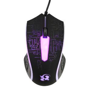 Мышь проводная (USB, 1600 dpi, оптическая, 2 кнопки), OT-PCM41