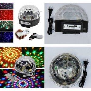Светодиодный диско шар Music Ball + Пульт