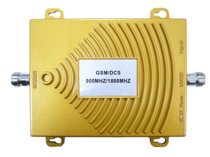 Репитер GSM 900/1800 МГц, Усиление на вход : 55 дБ, на выходе : 60 дБ, мощность: UpLink 17dBm, DownLink 17 dBm